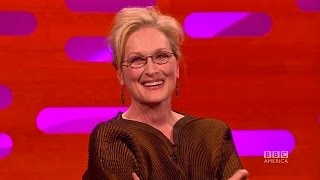 Meryl Streep's most embarrassing Golden Globe win - The Graham Norton Show