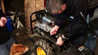 Repairing a Rear Tine Tiller - Part One