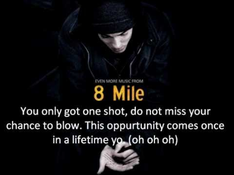 Eminem Lose Yourself Lyrics