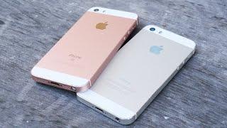 iPhone SE vs iPhone 5S Durability Drop Test!