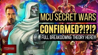 AVENGERS 5 IS SECRET WARS!! Why Iron Man & Cap WILL Return!!