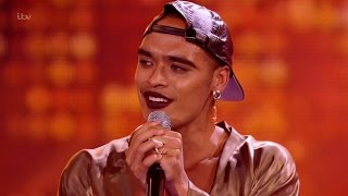 The X Factor UK 2015 S12E11 6 Chair Challenge - Guys - Seann Miley Moore Full Clip