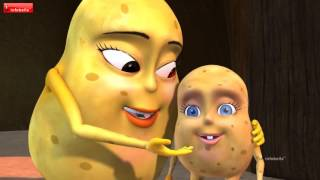 The Potato Song   Bengali Nursery Rhymes. bangla kobita.