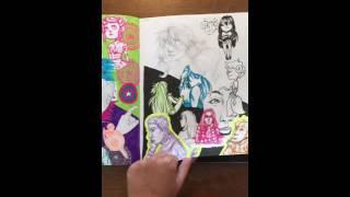 Sketchbook- October 2015- July 2016