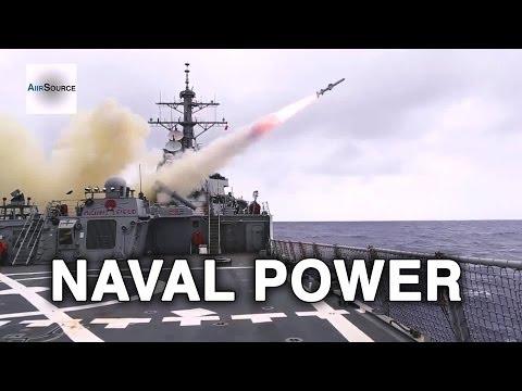 watch U.S. Naval Power! Navy Destroyer Squadron 15 Demonstration