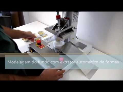 Máquina Modeladora de Empadas Tão fácil de usar quanto produzir vimaster.ind.br