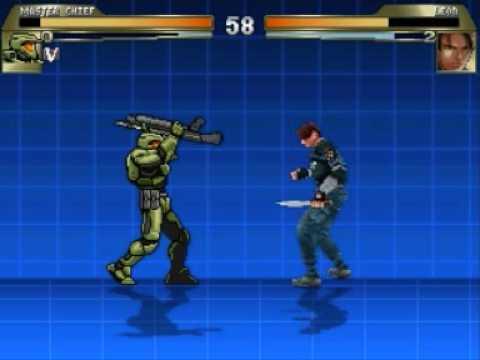 Mugen - Master Chief vs Leon