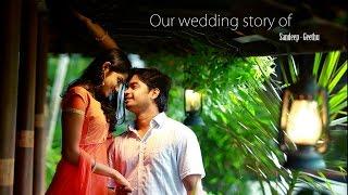 Kerala hindu wedding highlights of sandeep - geethu by R media fotos