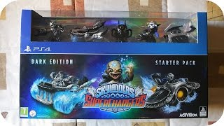 Skylanders SuperChargers Dark Edition PS4 Unboxing en Español 1080p HD
