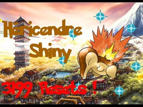 [SHTC 2016][ShinyHunting☆94][HG] Hericendre/Cyndaquil Shiny en 3199 Resets soit 9597 vues !
