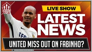 MAN UTD Miss OUT On FABINHO? MANCHESTER UNITED TRANSFER NEWS