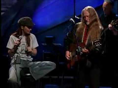Willie Nelson and Shania Twain Blue eyes crying in the rain