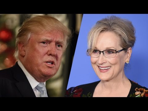 Trump Vs Meryl Streep CNN Discusses The Serious Issues