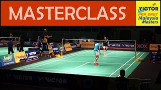 LEE Chong Wei Giving Young Player a Masterclass in Badminton | Malaysia Masters 2016