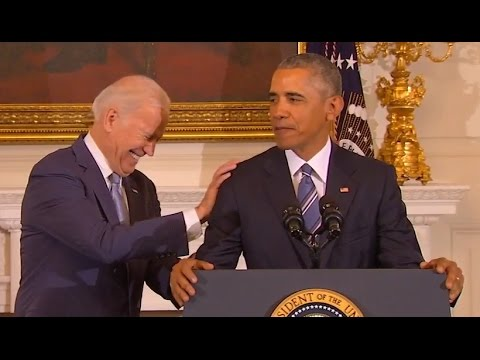 watch Obama's Tribute to Joe Biden (Full Speech) | ABC News