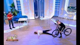 Flavia și-a văzut moartea cu ochii, după ce a acceptat provocarea unui biker