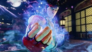 RYU LEARNS TO THE POWER OF NOTHINGNESS | STREET FIGHTER V