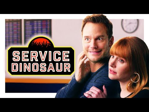 Download My Dinosaur Is a Service Animal (with Chris Pratt and Bryce Dallas Howard!) | CH Shorts HD Mp4 3GP Video and MP3
