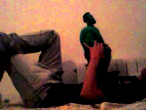 Hulk rodando escena porno