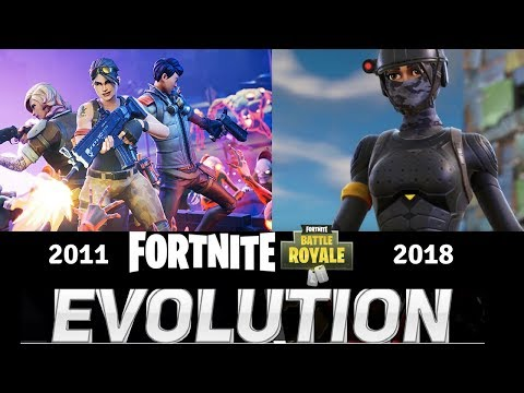 Xxx Mp4 Evolution Of Fortnite Fortnite Then VS Now 2011 2018 3gp Sex
