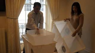 Final Testing and Sealing of Vote Counting Machines - Phil Embassy UK
