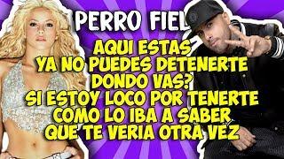 Shakira ft Nicky Jam -  Perro fiel (Letra)