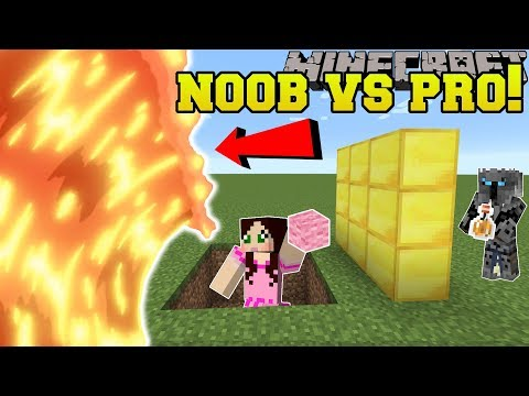 Minecraft NOOB VS PRO MAGMA RUNNER Mini Game