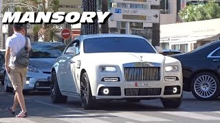 MANSORY Rolls Royce Wraith in white !