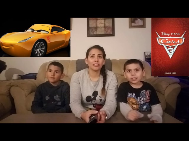 Cars 3 Official Trailer Teaser 2 2017 Cynthia's Reaction Disney Pixar Movie