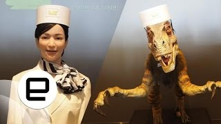 A very surreal check-in at Japan