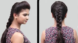 Easy Bridal Hairstyles For Wedding Or Function || Hairstyles For Girls || Playeven Fashions