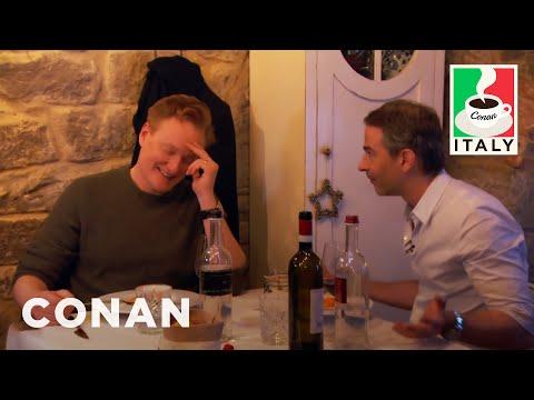 Conan Visits Jordan's Favorite Restaurant CONAN on TBS