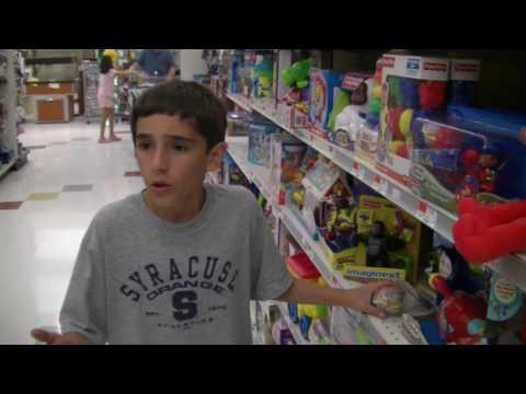 Anthony Goes Shopping