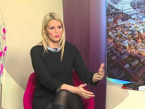 Ivana Vučićević 5.01.2015 u emisiji Za Beograd Naša tv