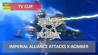 Star Fleet (1980) - Imperial Alliance Attacks X-Bomber [HQ]