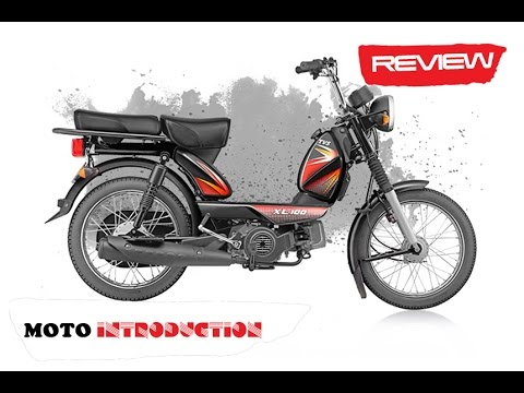 New TVS XL 100 stroke Review | TVS XL 100 4-stroke launched at INR 29,539