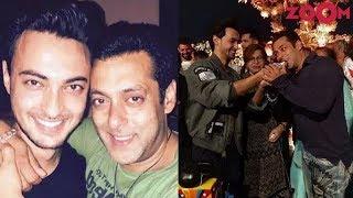 Aayush Sharma reveals the birthday plans for Salman Khan | Bollywood News