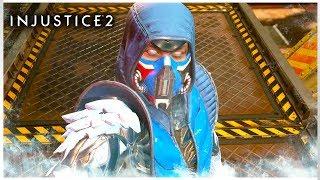 Injustice 2 - Sub Zero Gameplay Trailer + Super Move (Sub Zero Ataque Especial)