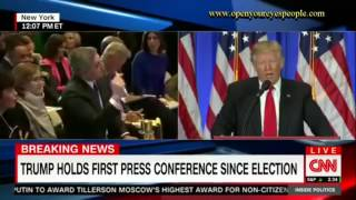 Trump to CNN: 'You are fake news'