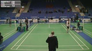 Badminton - Henri Aarnio vs Sakti Kusuma (MS, Qualifier) - Swedish Masters 2016