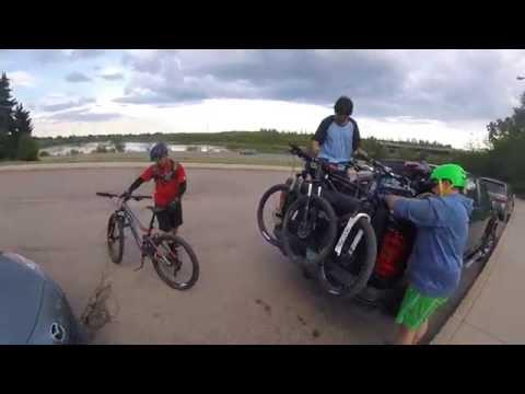 Mountain biking is fun and good