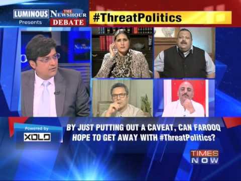 Xxx Mp4 The Newshour Debate Threat Politics Did Farooq Threaten PDP Part 2 18th April 2014 3gp Sex
