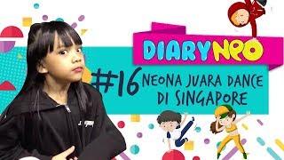 Neona Juara Dance di Singapore!!