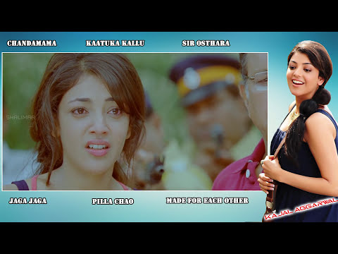 South Indian Actress Kajal Aggrawal Best Video Songs || New Collection HD 1080p