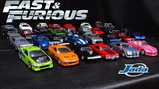 Fast & Furious Model Cars Collection - Jada Toys 1:32 Scale - March 2017