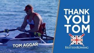 Good luck Tom   GB rower Aggar retires