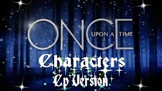 Once upon a time cast - CP version