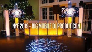DJ GIG LOG: BIGGEST PRODUCTION EVER! | CRAZY NYE 2019 PARTY (We got in BIG Trouble!)