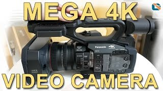 Panasonic HC-X1 4K Video Camera Unboxing & First Impressions #PanasonicHCX1