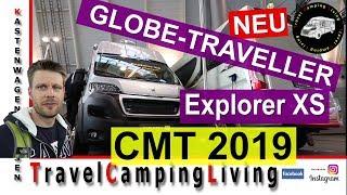 #4 CMT 2019, Neuheit Globe-Traveller Explorer XS / Neuigkeiten Globe-Traveller / Kurz: Roadcar 540